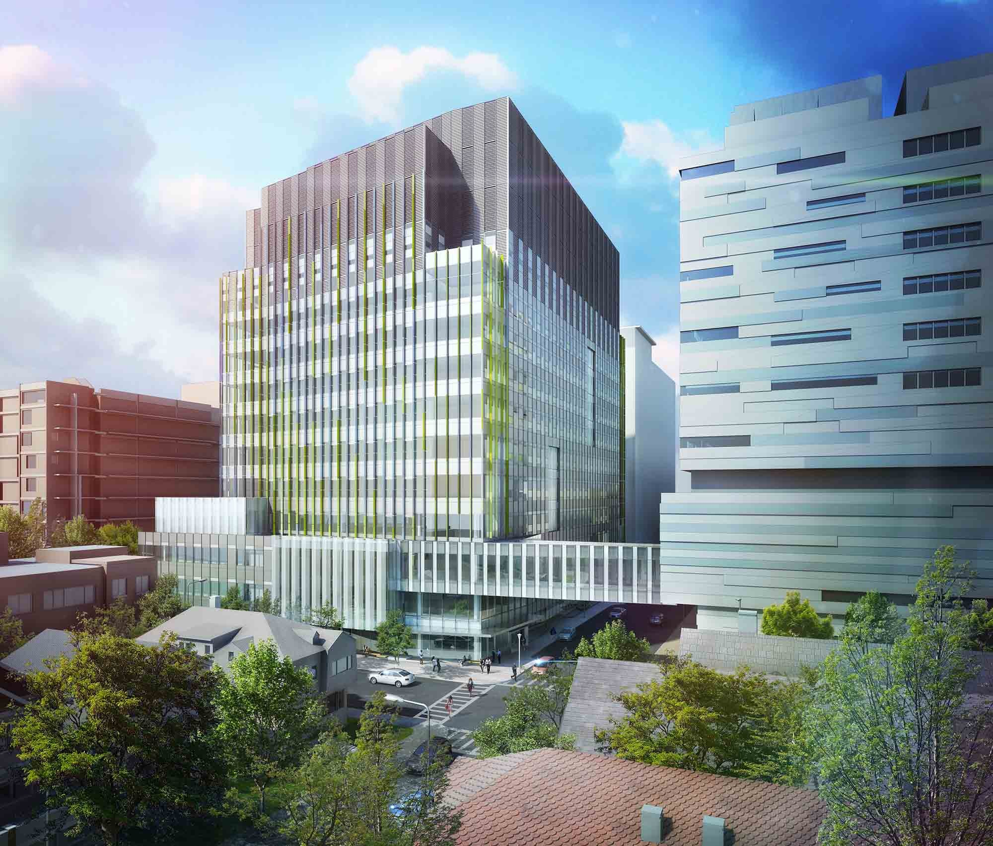 Brigham Building for the Future Proposal / NBBJ   ArchDaily