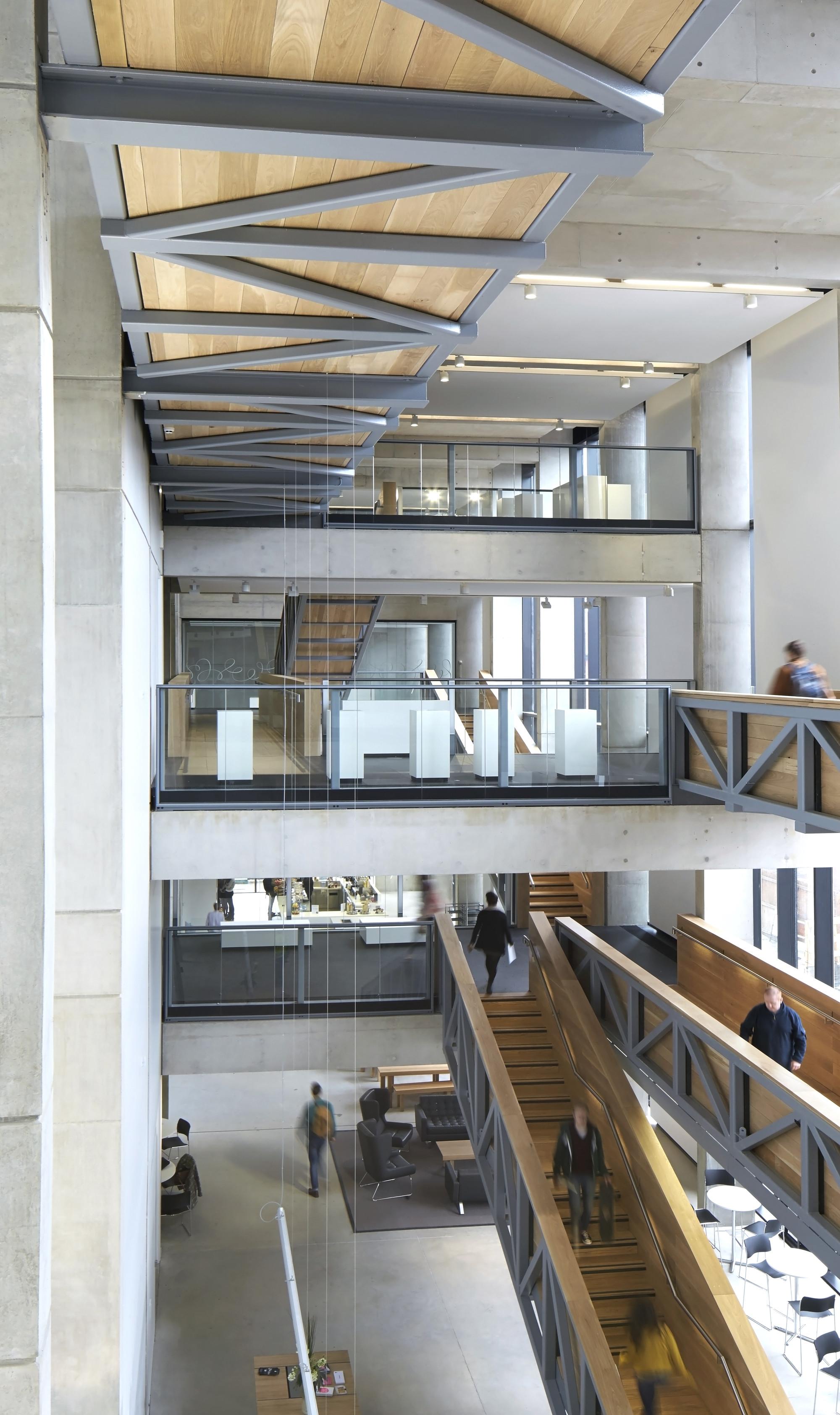 Art Gallery Interior Design Concept Description
