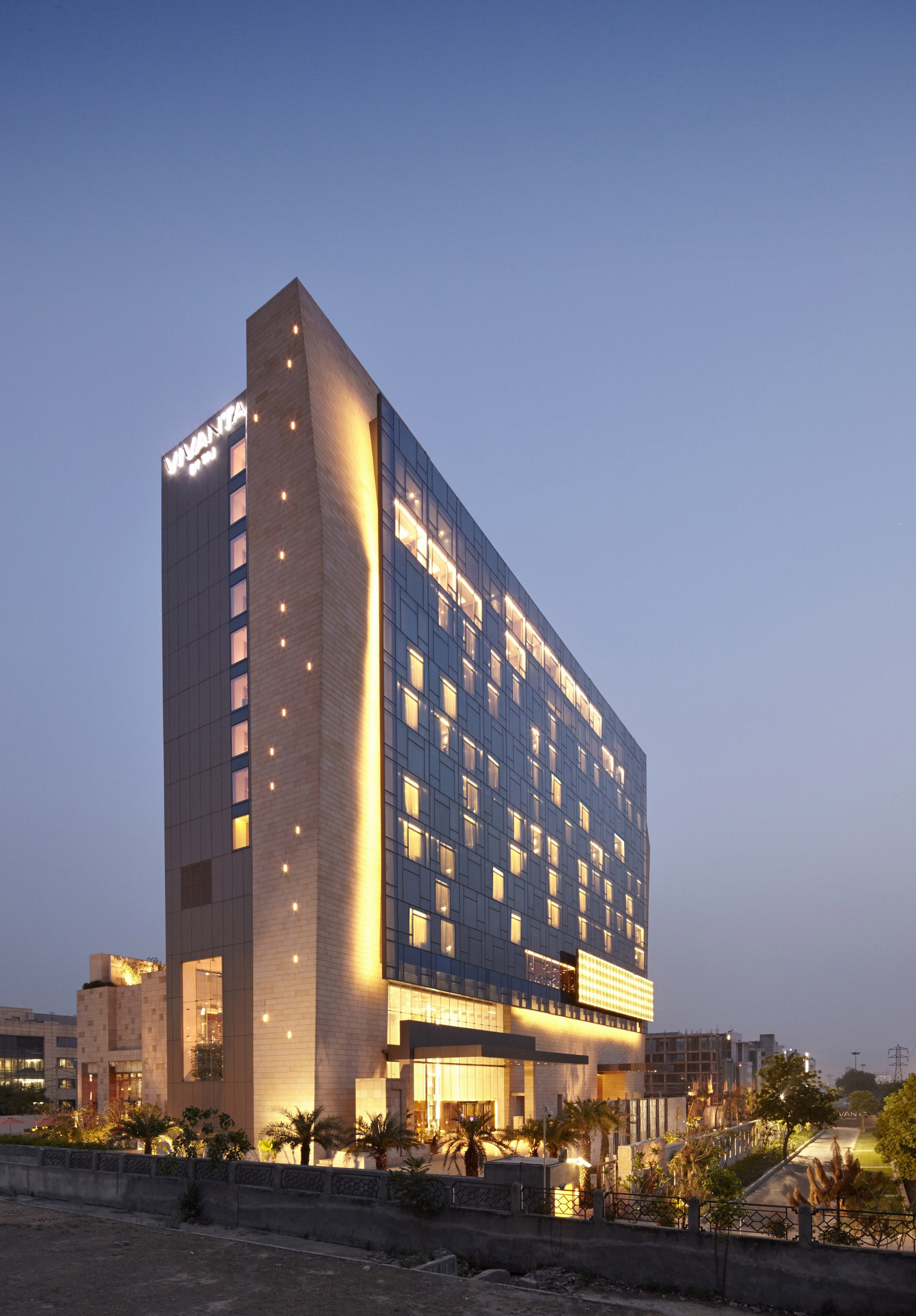 Gallery Of Vivanta By Taj Gurgaon Wow Architects