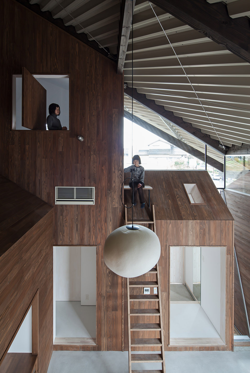 Rain Shelter House Y M Archdaily