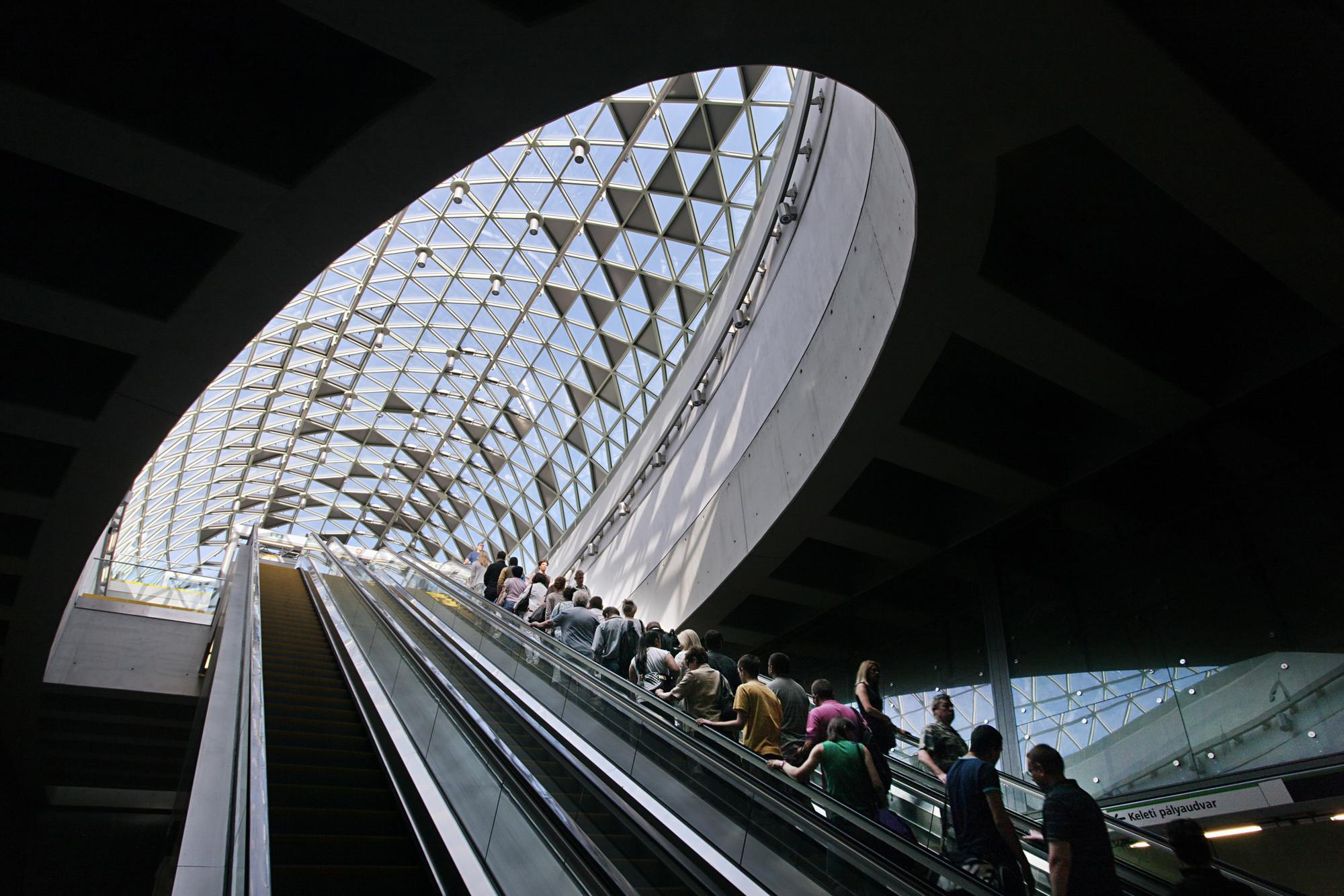 Gallery Of Budapest Underground Line M4 Bik 225 S Park