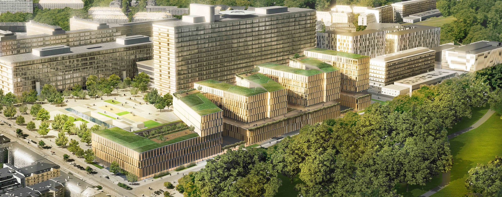 Gallery of Rigshospitalet Hospital Expansion / 3XN ...
