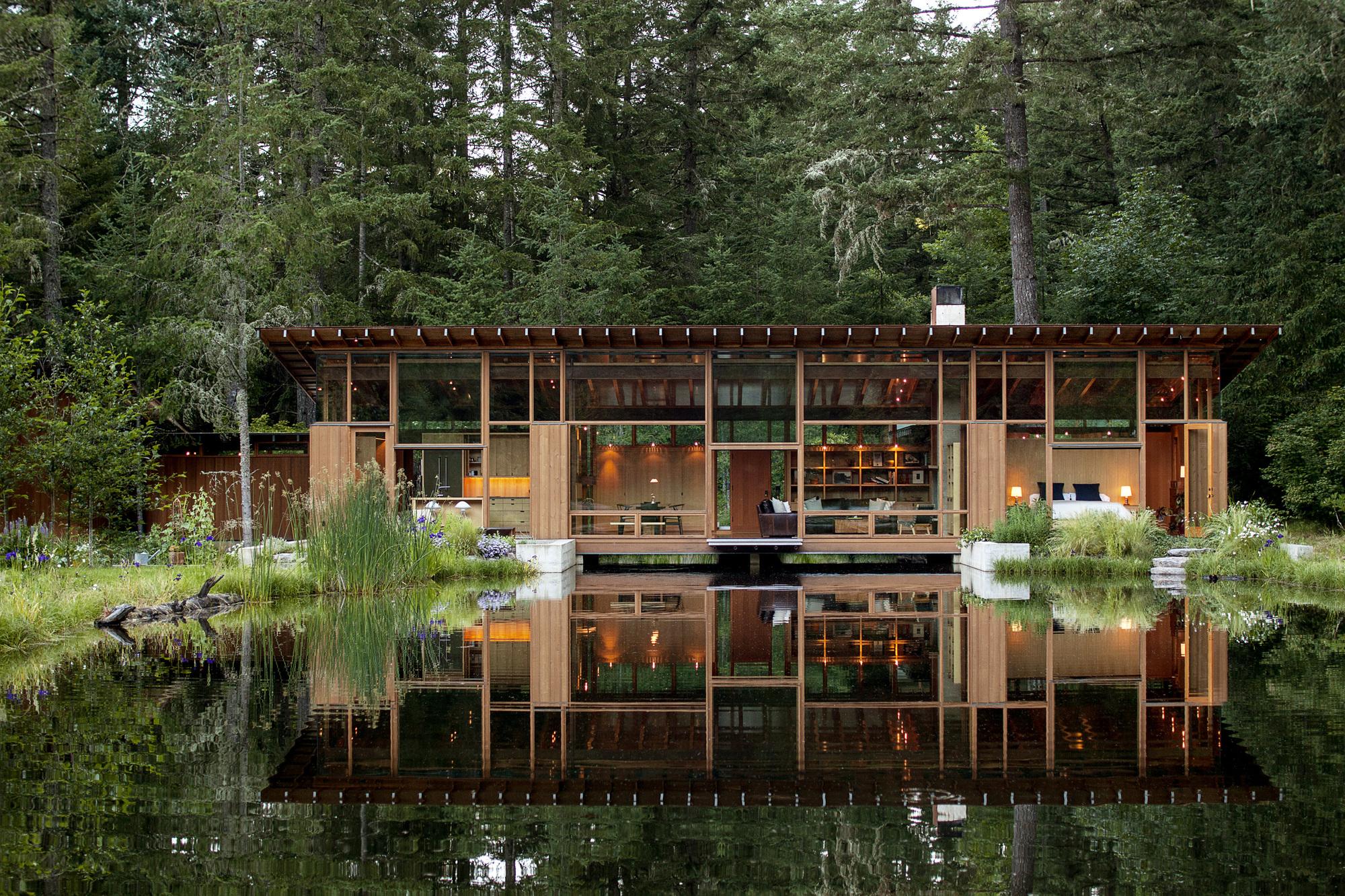 Pond Bridge Design
