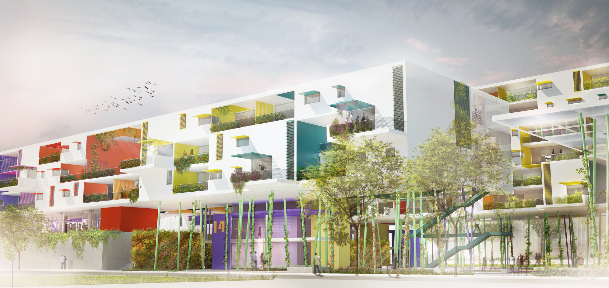 Inspired by the Concept of Blooming Flowers MOB Architects ...