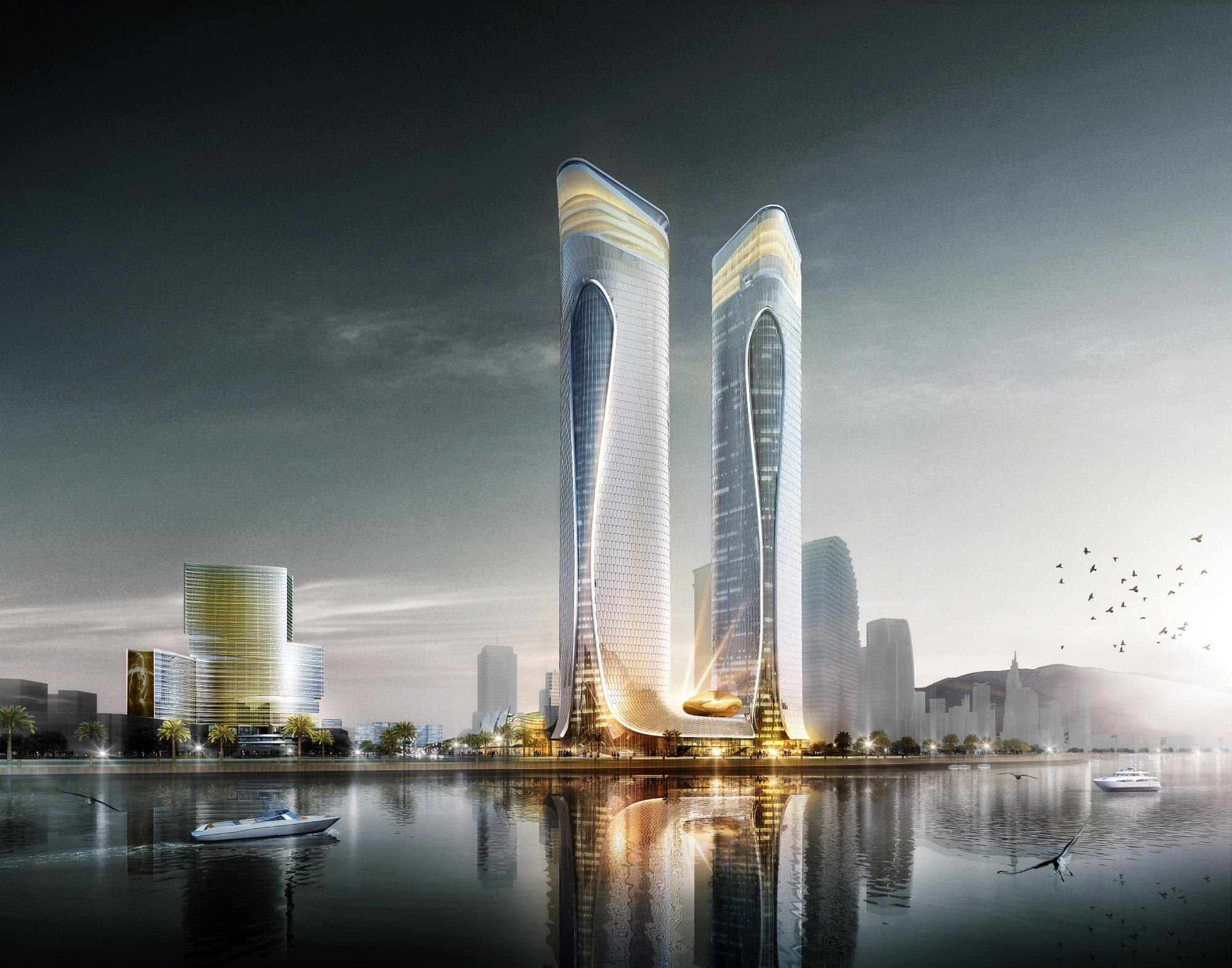 Aedas Unveils Dragon Inspired Complex Design In Zhuhai