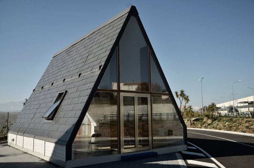 Gallery of Italian Architect Designs Folding House That Can Be Built     Zoom image   View original size