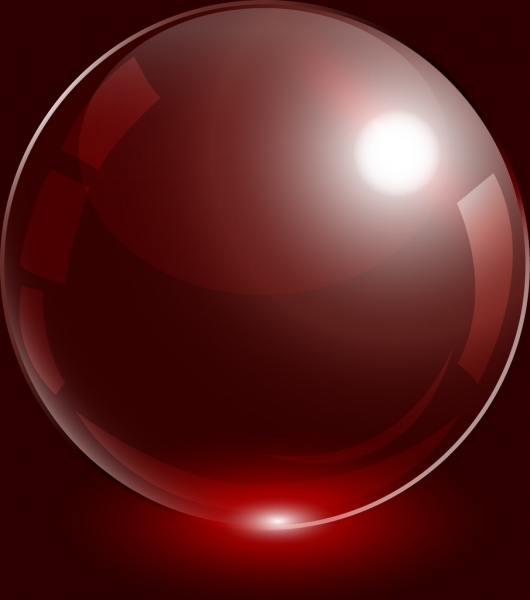Red Wedding Bubbles