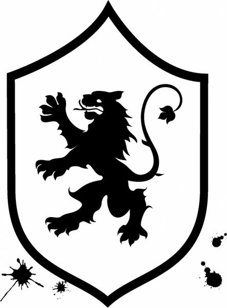 Eagle And Flag Shield Clip Art