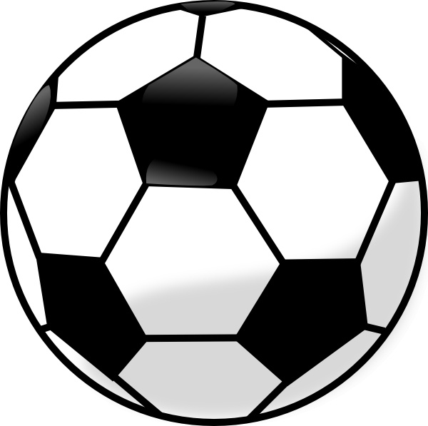 Soccer Ball clip art Free vector in Open office drawing ...