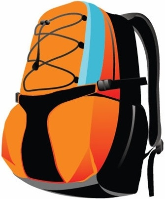 Sport Backpack Vector Free vector in Encapsulated ...