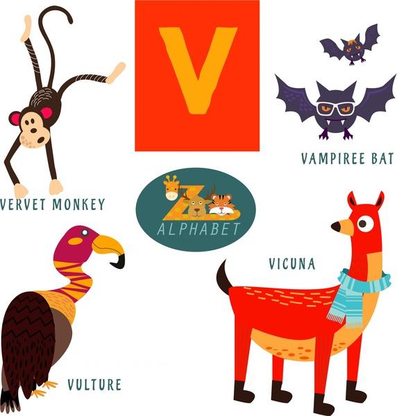What Animals Start Letter V
