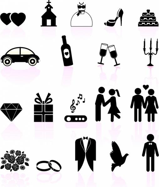 free wedding icons # 52