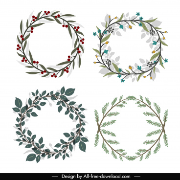 wreath template free svg # 12