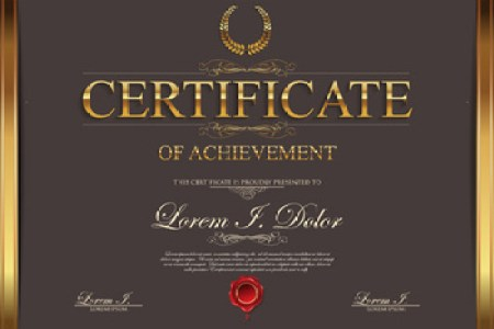 Modern certificate design free vector download  8 125 Free vector     modern certificate creative template vector