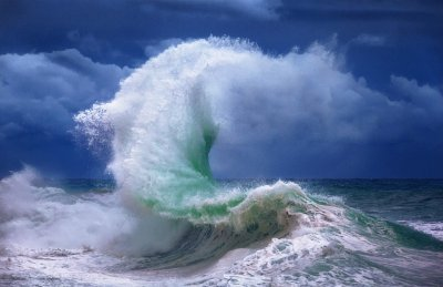 Ocean Wave Wallpaper and Background Image | 1600x1037 | ID ...