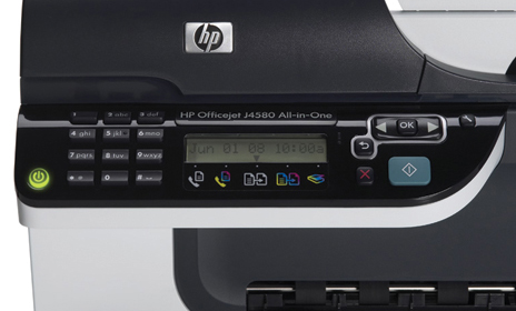 Amazon Com Hp Officejet J4580 All In One Printer