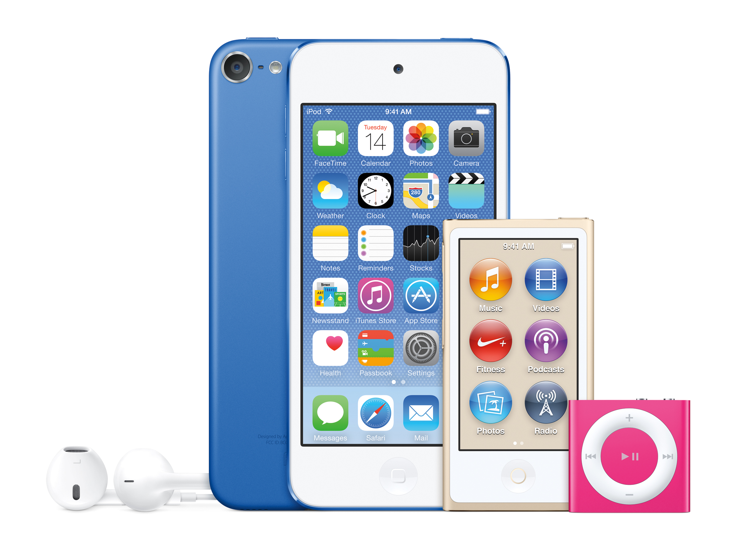 2 Generation Ipod 1 Apple 6th Version Nano