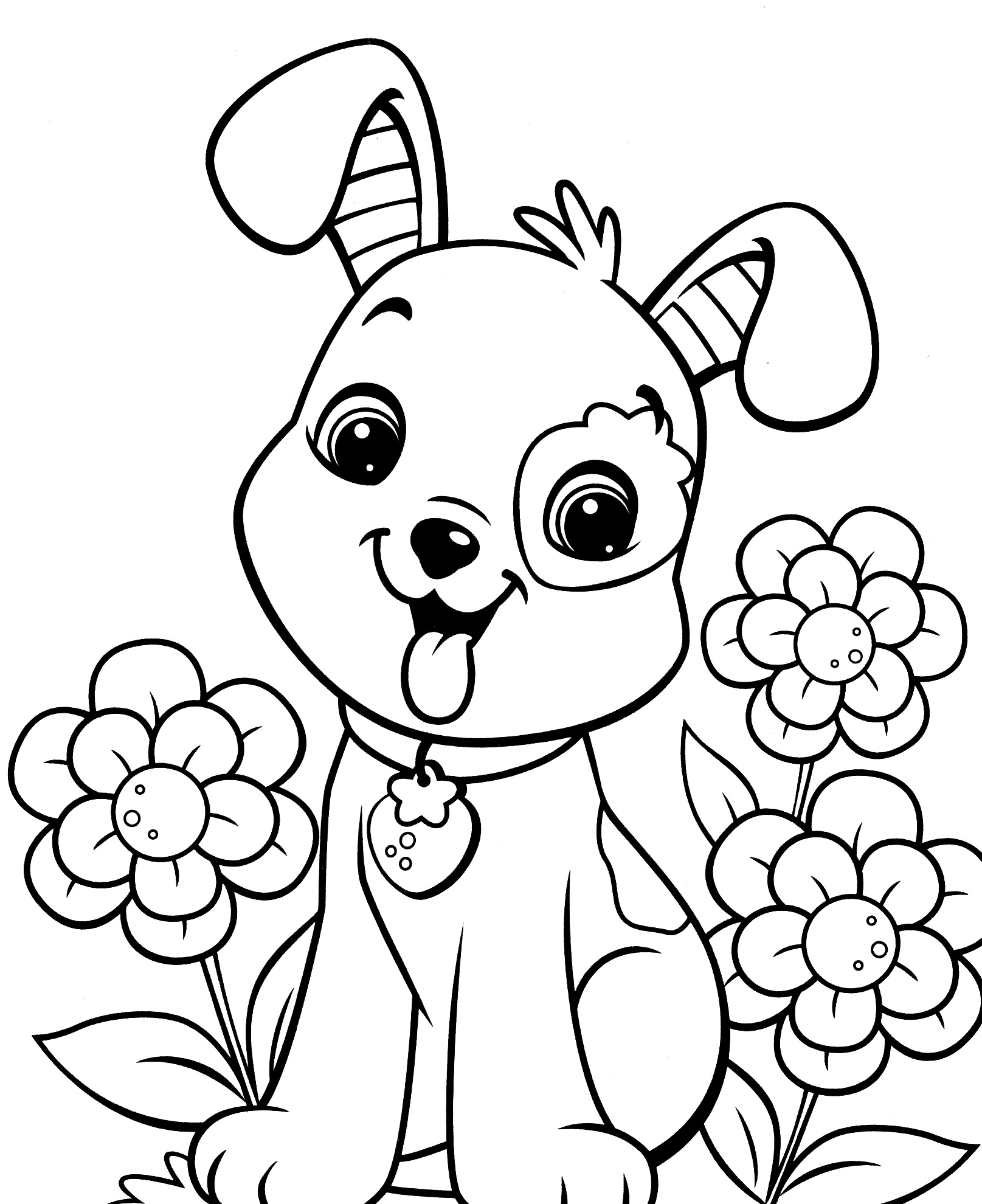 Get free high quality hd wallpapers puppy coloring pages to print for kids