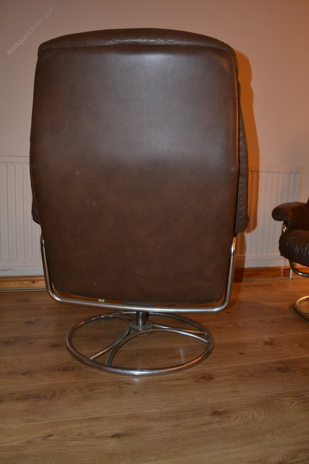 Small Leather Occasional Chairs