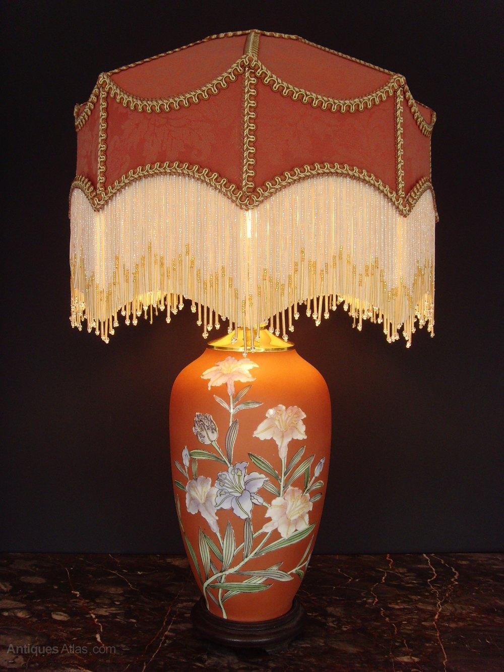Antiques Atlas Oriental Porcelain Table Lamp Downton