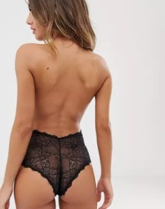 Fashion Forms   Fashion Forms lace backless strapless body
