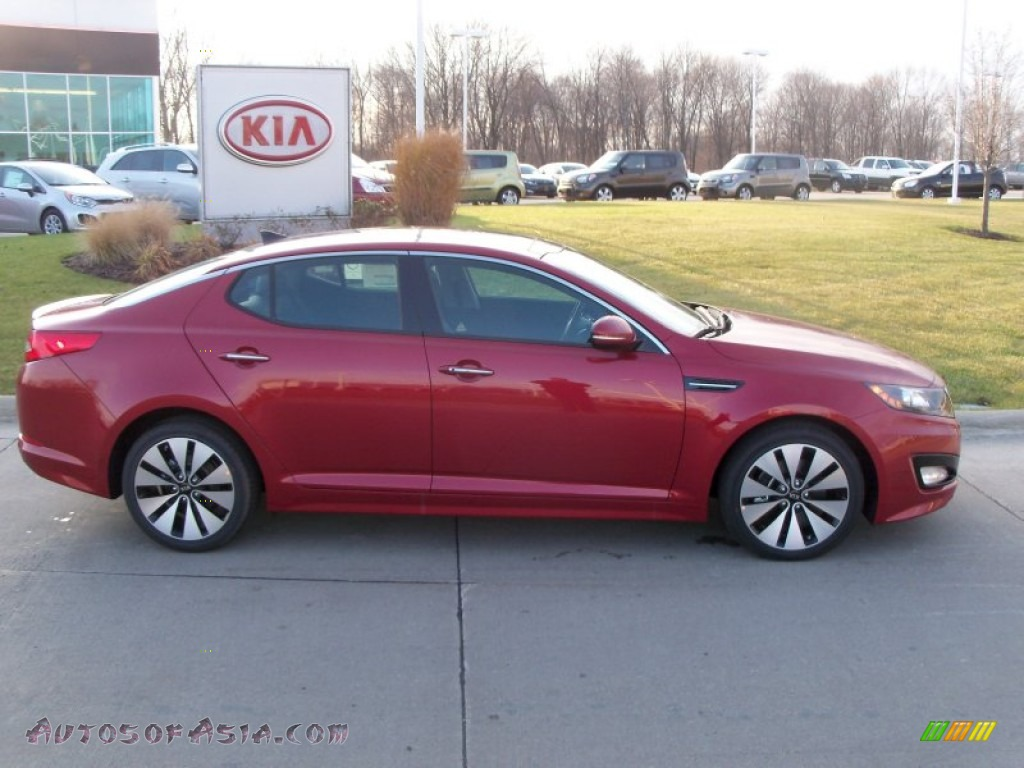 2012 Black Kia Optima Ex Gdi