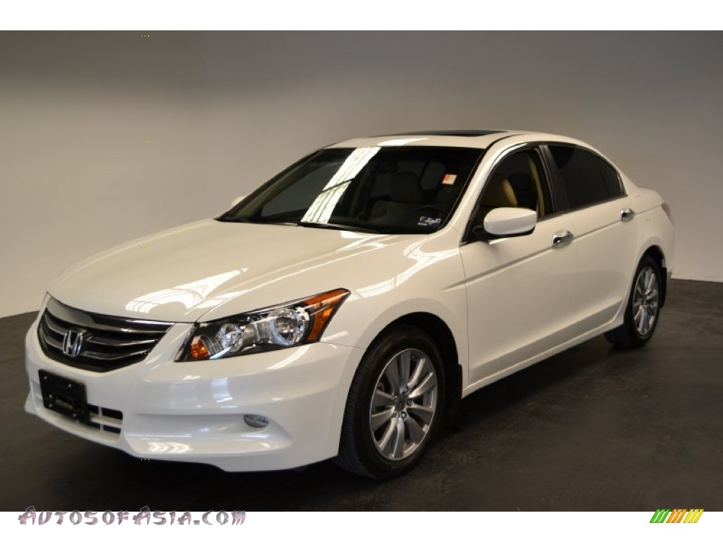 2012 Honda Accord Ex White