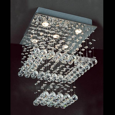 crystal chandelier tiered # 57