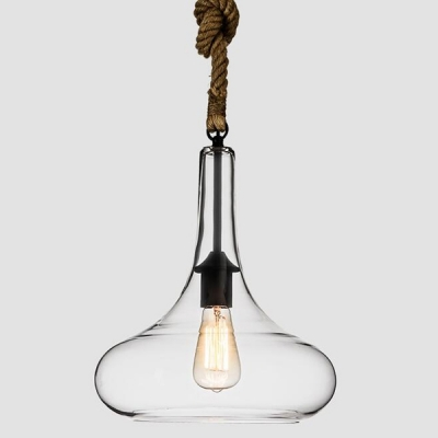 pendant lighting with rope # 23