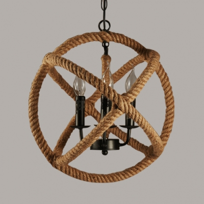 pendant lighting with rope # 83