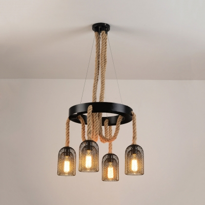 pendant lighting with rope # 75