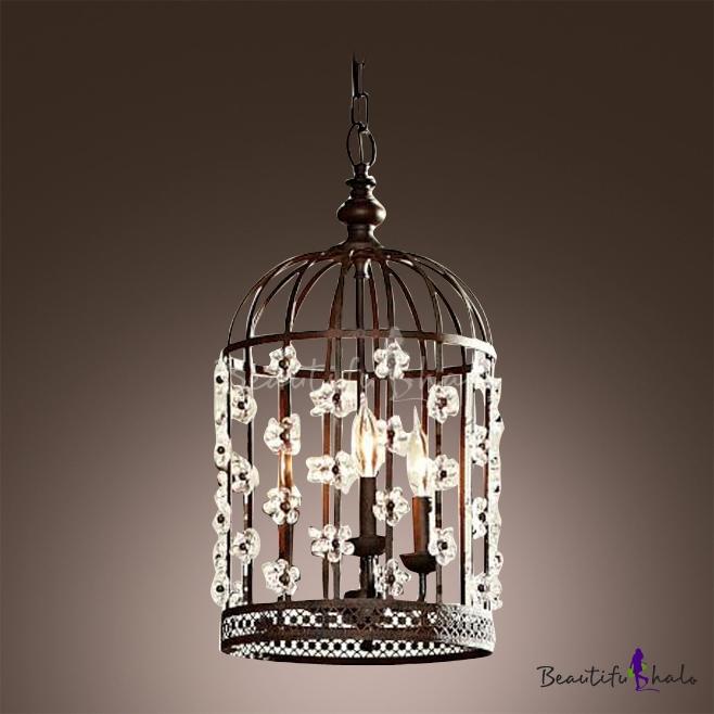 Bird Cage Pendant Light