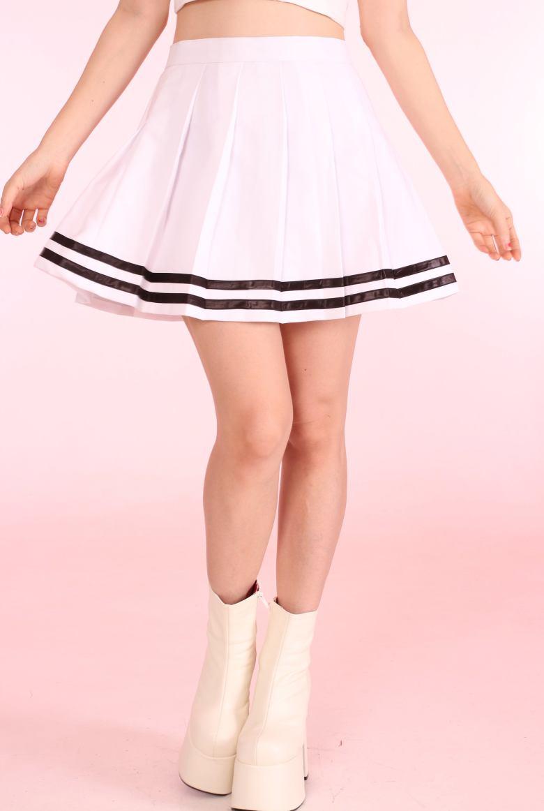 f9b9ee3eb8 CHICTRY Girls' Classic School Uniform Cheerleading Box Pleated Skirts Cheer  Leader Costume Fancy Dress 03 Red 10-12