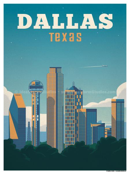 Ideastorm Studio Store Dallas Poster