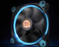 Thermaltake UK Modding Trophy powered by Scan Final Voting   bit     Thermaltake launches Riing LED 12  14 rad fans