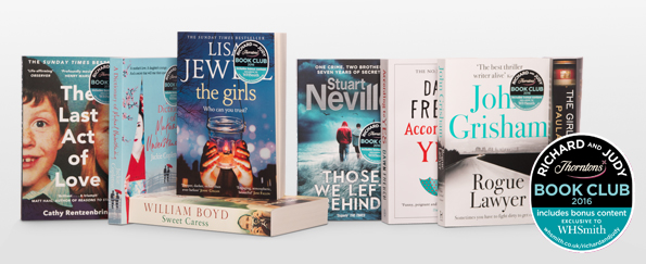 The Girl on the Train Archives   WHSmith Blog Vote Now For Your Richard and Judy Summer Book Club 2016 WINNER