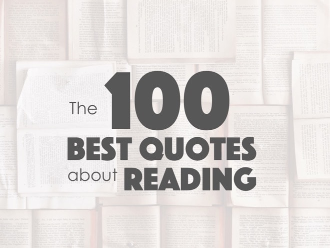 Image of: Swoon Over Bookroo The 100 Best Quotes About Reading