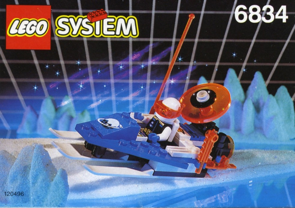 Space   1993   Ice Planet 2002   Brickset  LEGO set guide and database Celestial Sled