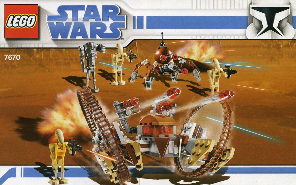 Star Wars   The Clone Wars   Brickset  LEGO set guide and database Hailfire