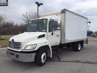 2008 Hino 258lp Van Trucks / Box Trucks For Sale Used ...