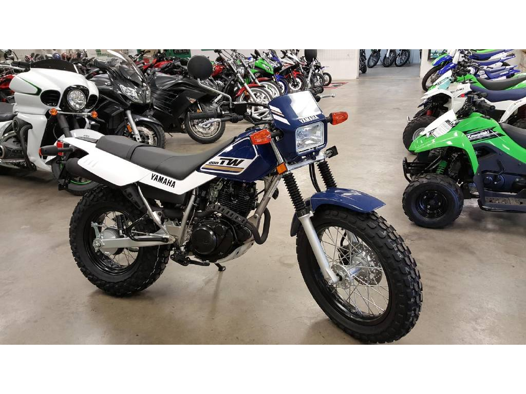 Used Yamaha Tw200 Motorcycle