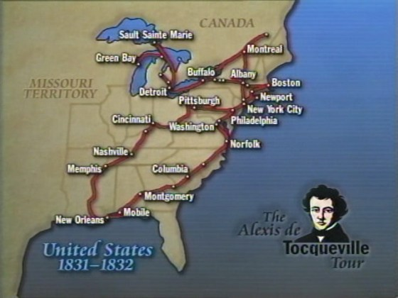 Traveling Tocqueville s America Video  Apr 22 1998   Video   C SPAN org