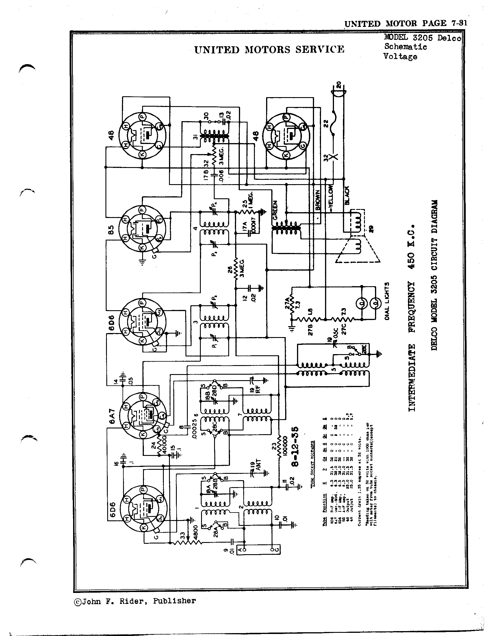 Delco Model 16221029 Wiring Schematic Diagram Libraries 09354155 Librarydelco