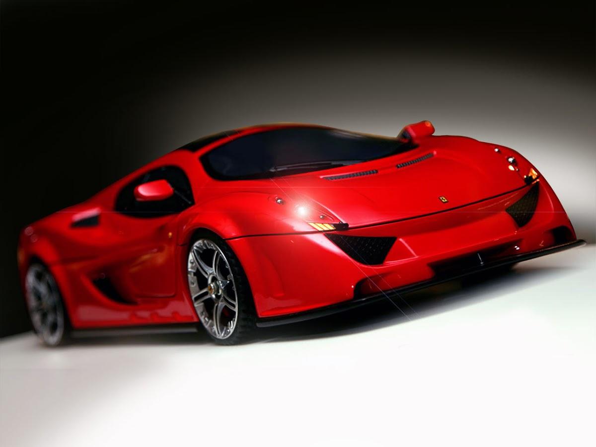 Ferrari Dino Rosa Concept Study For A New Entry Level Mid
