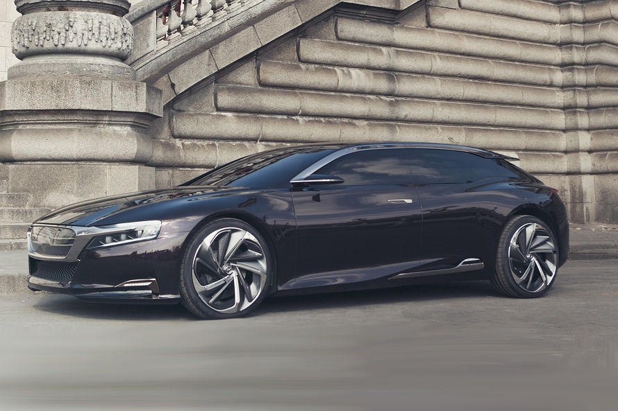 Citroen S Luxurious New Ds9 Concept Study Is Ready For Its