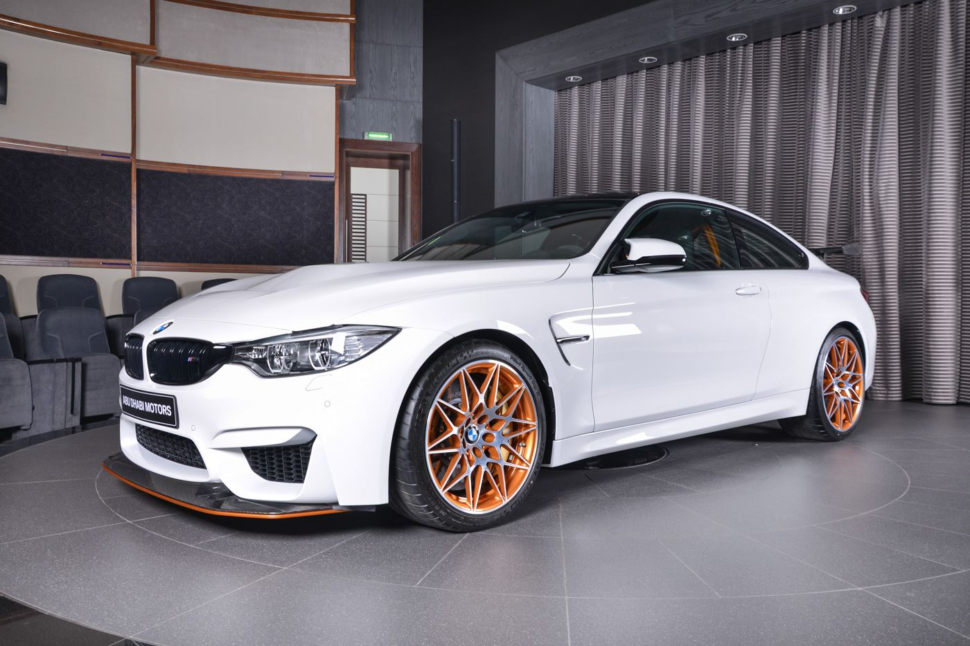 Let This Bmw M4 Gts Be Your Personal Quot White Whale Quot Carscoops