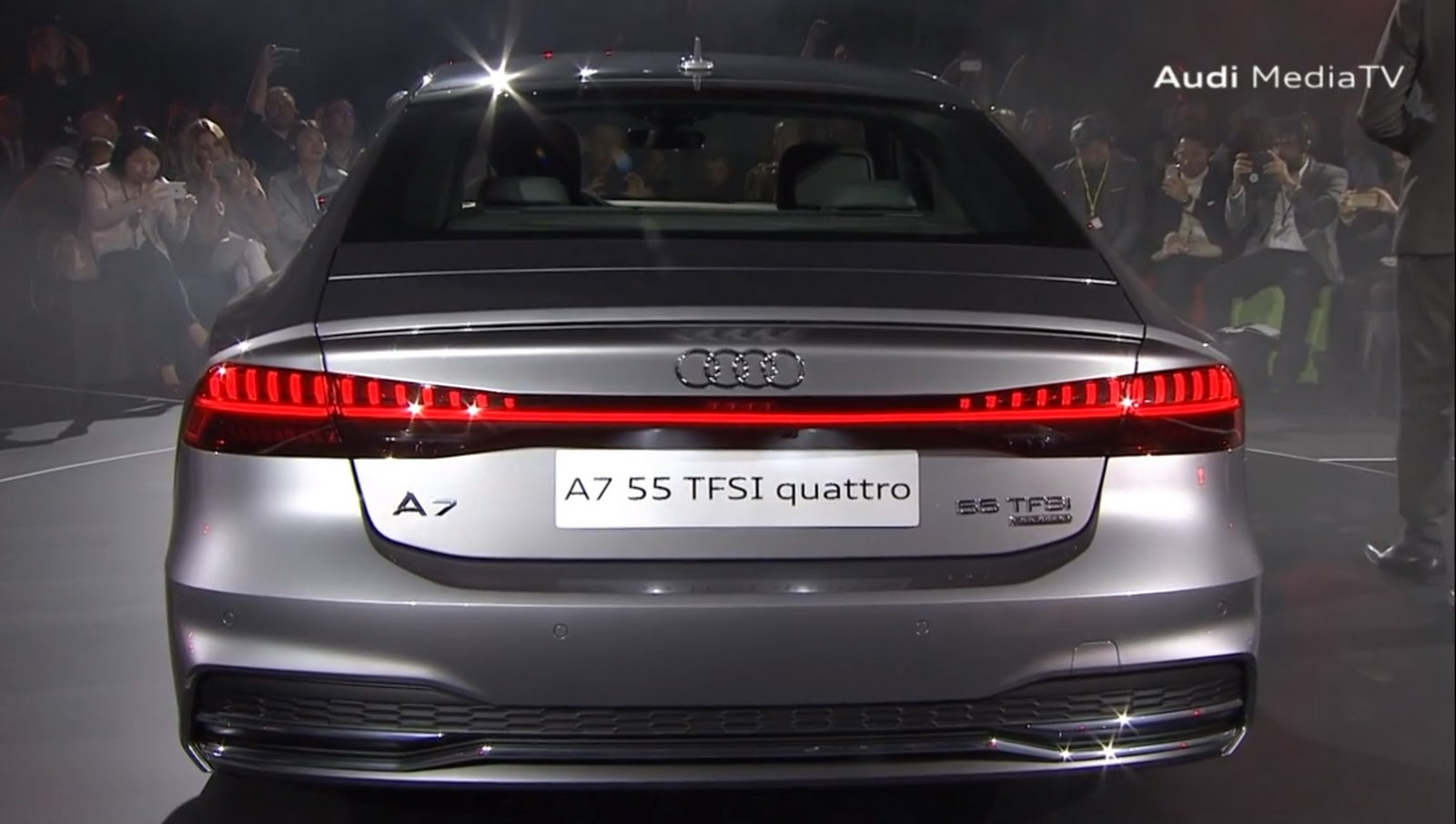 New Audi A7 First Photos Watch The Reveal Live Here At 1