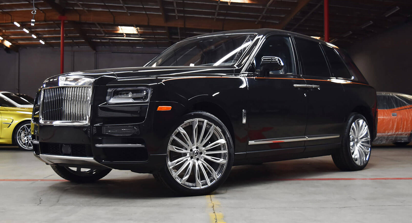 Rolls Royce Cullinan Is Prime Real Estate For Alloy Wheel