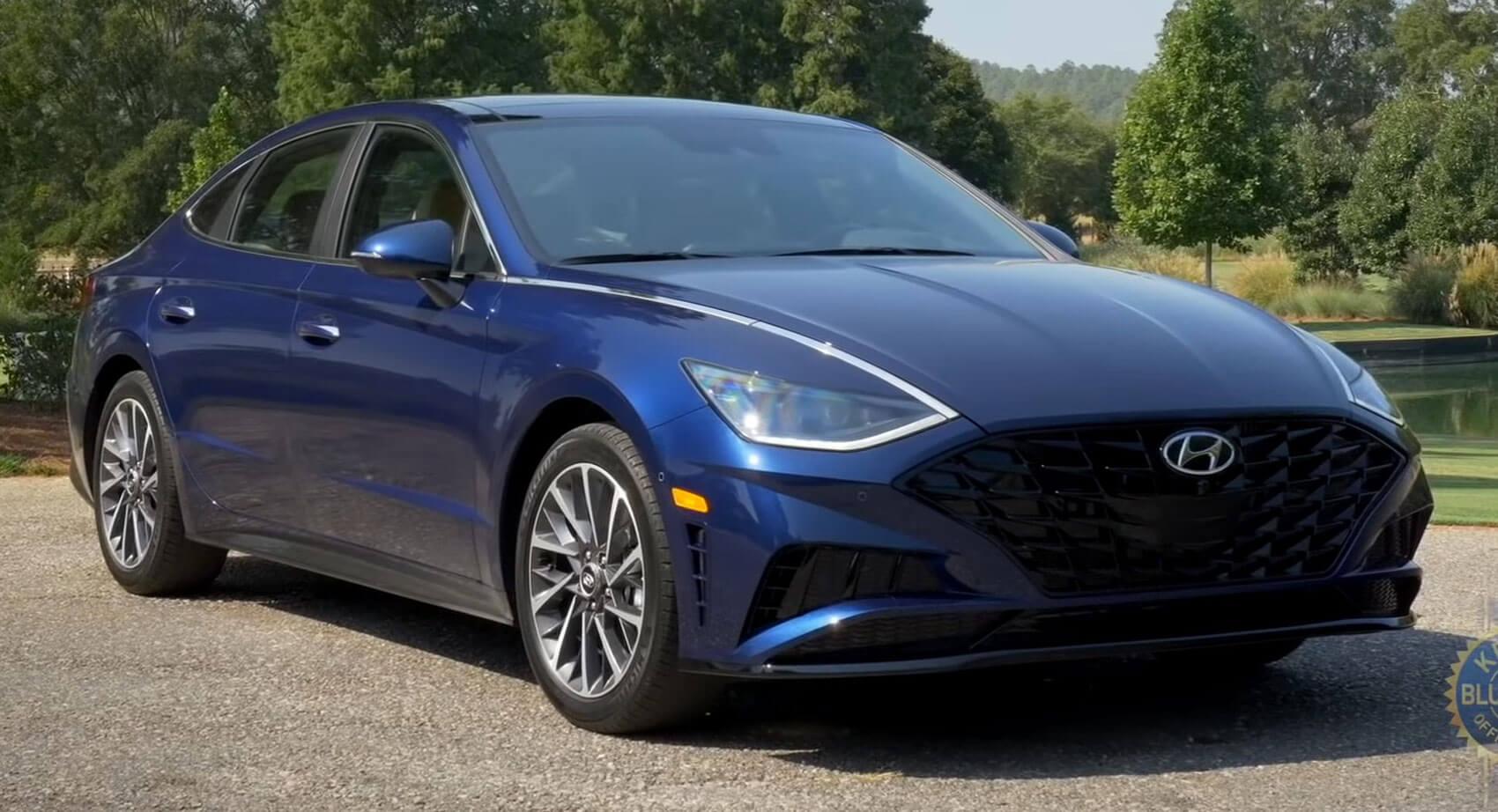 2020 Hyundai Sonata Not The Prettiest Midsize Sedan But