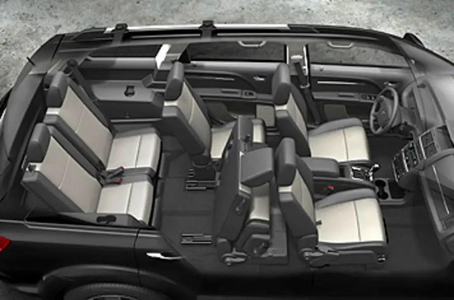 2017 Dodge Grand Caravan Interior Dimensions